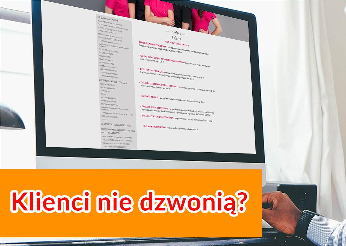 skuteczne strony internetowe powerweb.pro - dlaczego strona www nie sprzedaje, wpis na blogu